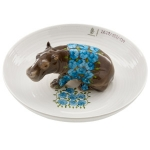 Bowl with Hippopotamus