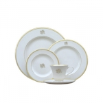 Pickard Signature Collection Monogram Salad Plate
