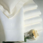 Classico White Oblong Tablecloth