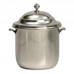 Classic Pewter Ice Bucket w/Liner