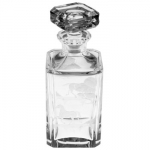 Run for the Roses Whiskey Decanter