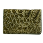 Caiman Crocodile Card Case