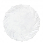 Incanto White Ruffle Dinner Plate