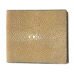Cognac Shaved Shagreen Wallet