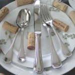 Le Perle Stainless Five Piece Place Setting