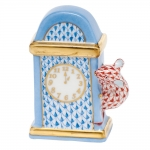 Blue Hickory Dickory Dock Clock