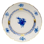 Chinese Bouquet Blue Bread and Butter Plate