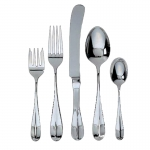 Classic English Stainless Five Piece Place Setting