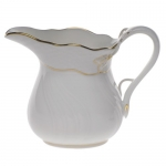 Golden Edge 6 Ounce Creamer