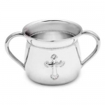 Abbey Silverplate Two-Handle Baby Cup