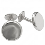 Sterling Cufflinks and Stud Set