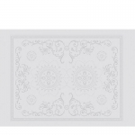 Eloise Greensweet White Placemat