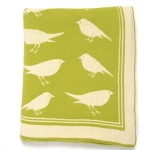 Green Bird Throw
