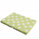 Green Polka Dot Blanket