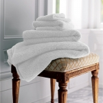 Indulgence White Hand Towel
