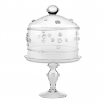 Isabella Medium Cake Stand with Dome