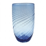 Swirl Blue Highball
