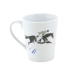 Equestrian Mug Green/Black