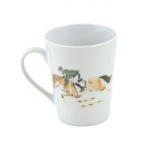 Equestrian Mug Green/Brown