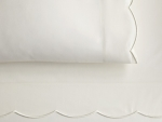 Overture Ivory Standard Pillowcases