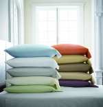 Stresa White Standard Pillowcase