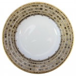 Syracuse Taupe French Rim Soup Plate