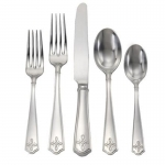 Villandry Bright Satin Five PIece Place Setting