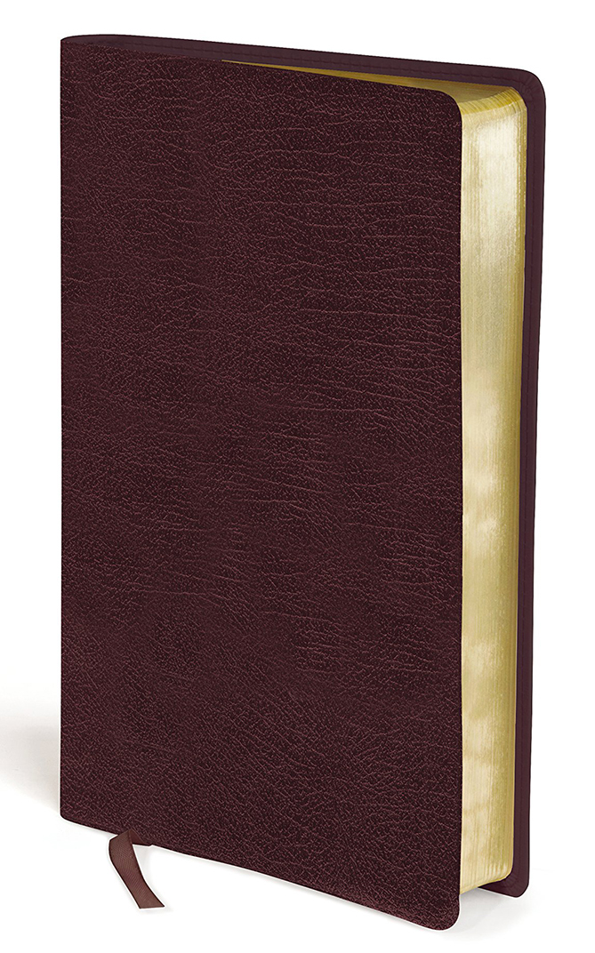 203-0013 Amplified Holy Bible, Large Print - Burgundy Bonded Leather