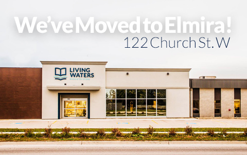 We've Moved to Elmira 122 Church St. W