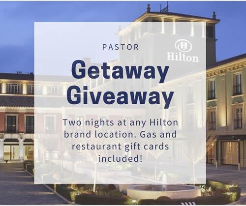 Lifeword Sunday 2020 Pastor Getaway Giveaway