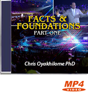 Facts and Foundations (Part 1)