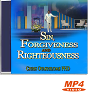 Sin, Forgiveness and Righteousness