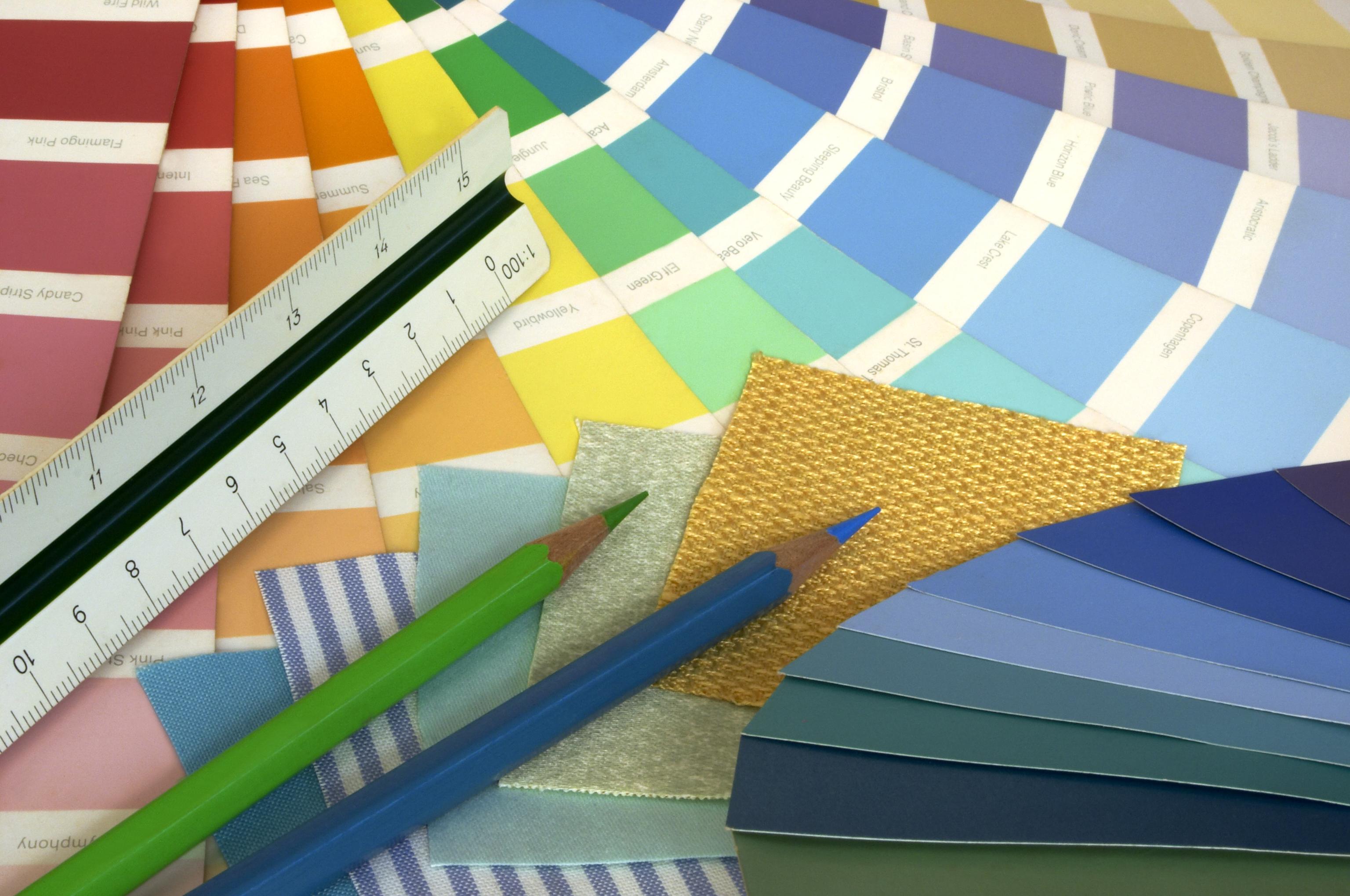 Interior design color charts