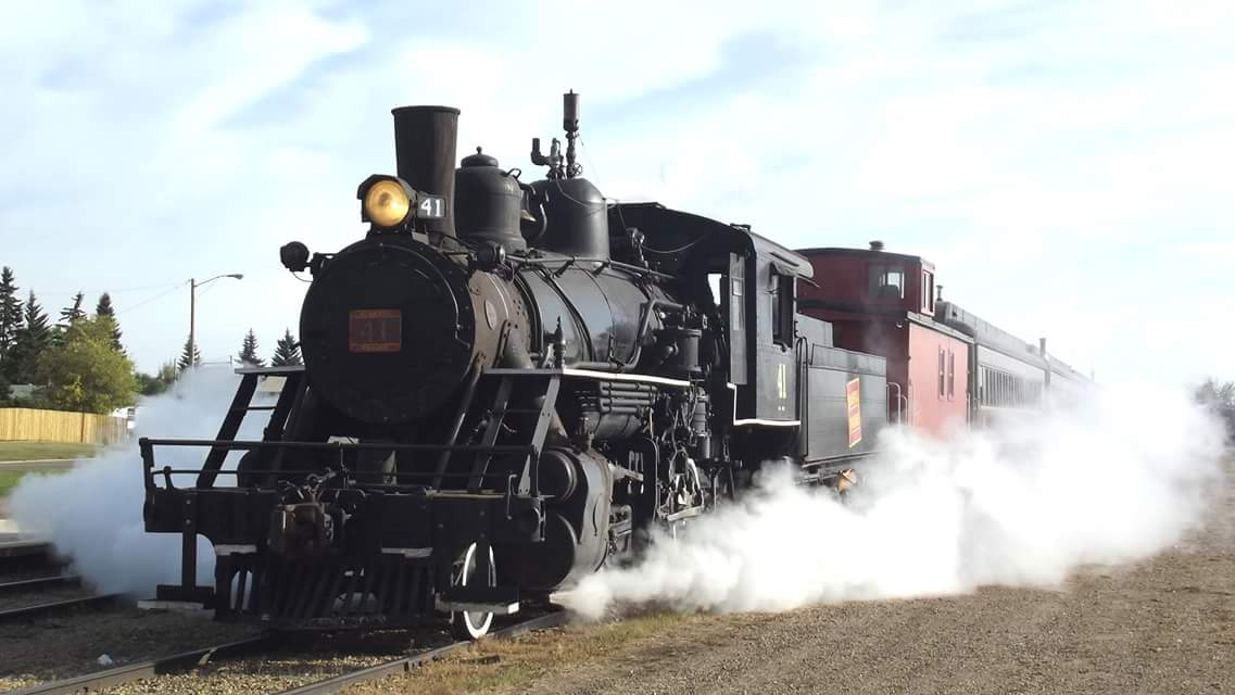 Alberta Steam Train Dinner and Show