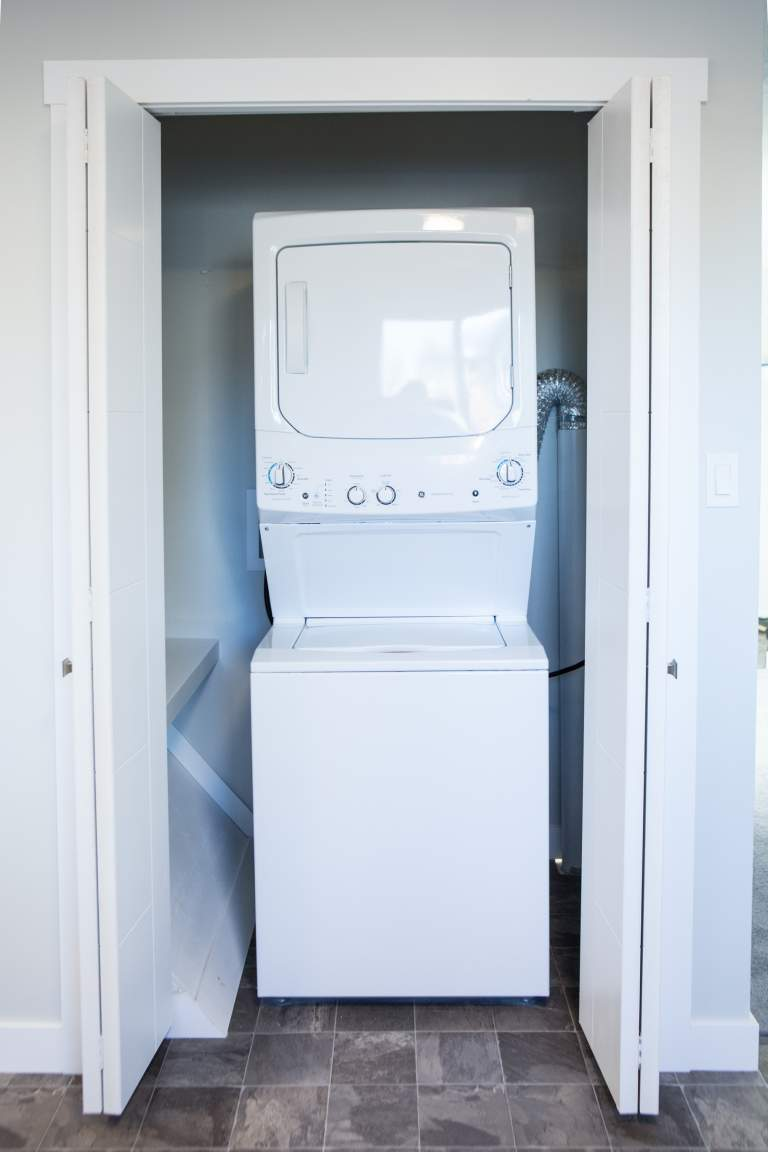 In-suite laundry not shared