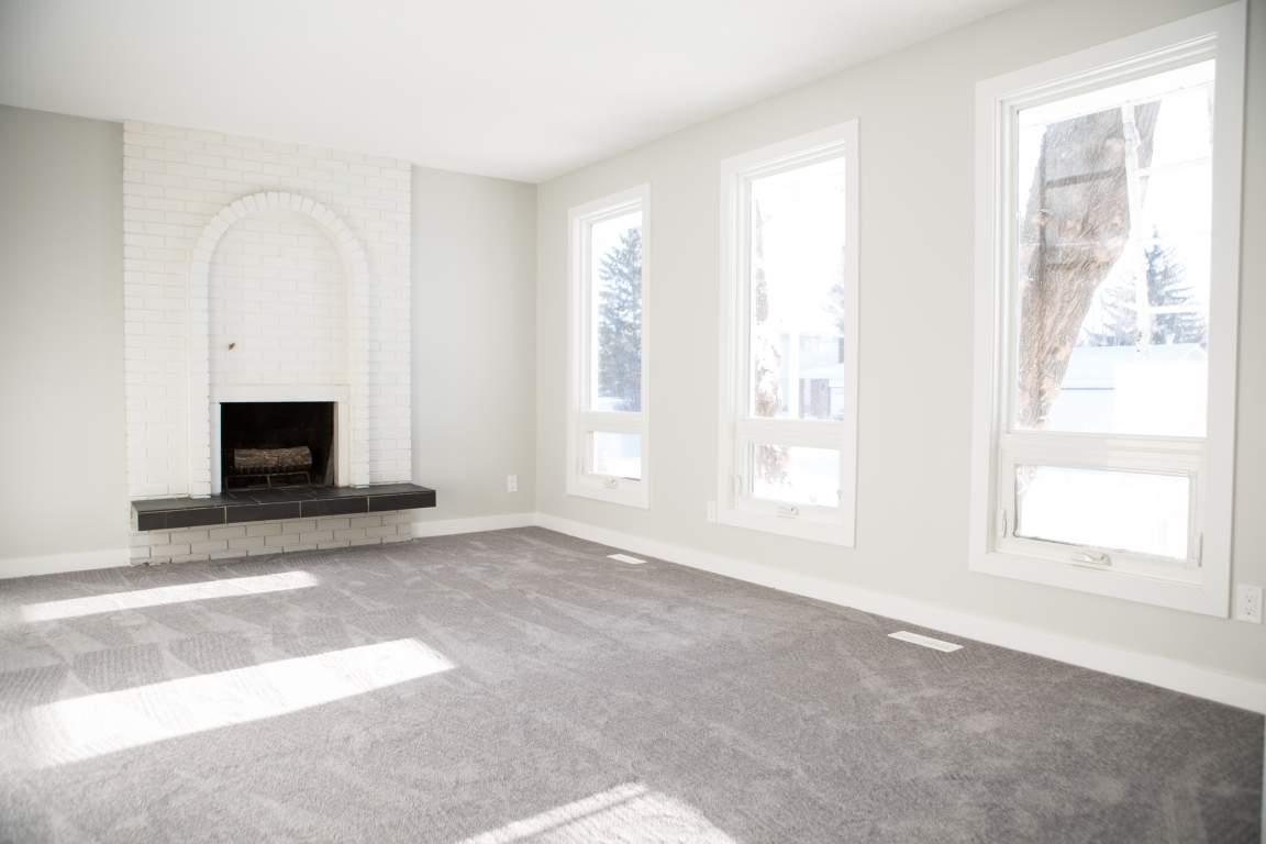 Bright Main Floor Living Room