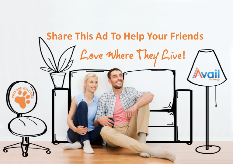 Refer a Friend and if they are chosen to rent this home you get a $100 Fuel card!
