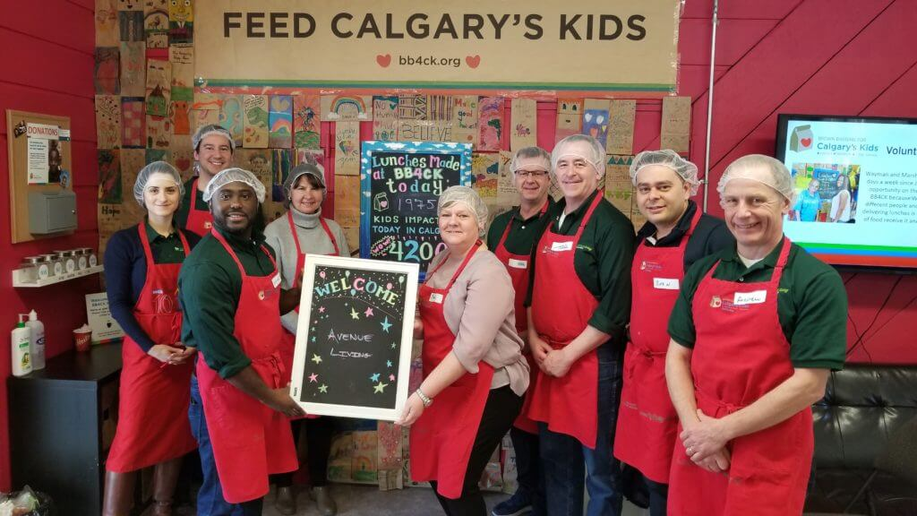 Brown Bagging for Calgary Kids