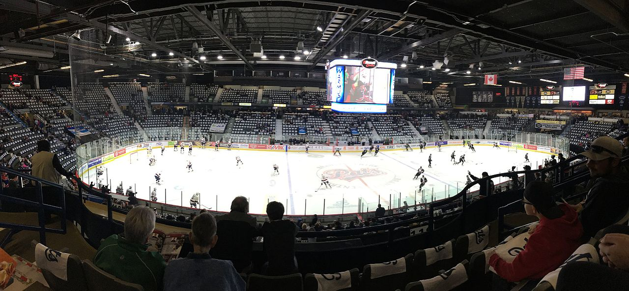 Regina Pats WHL hockey game at the Brandt Centre
