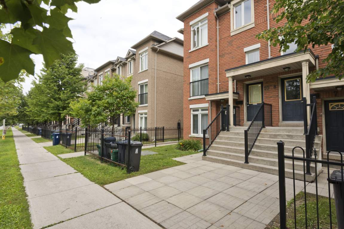 North York Ontario Maison urbaine à louer