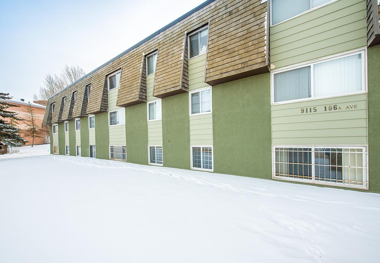 Edmonton Du centre 3 chambre à coucher Appartement À louer