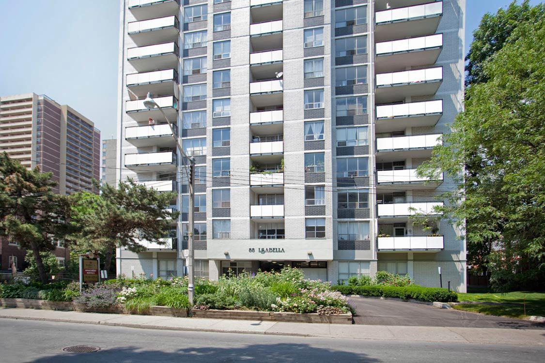 Toronto Centre 1 chambre à coucher Appartement