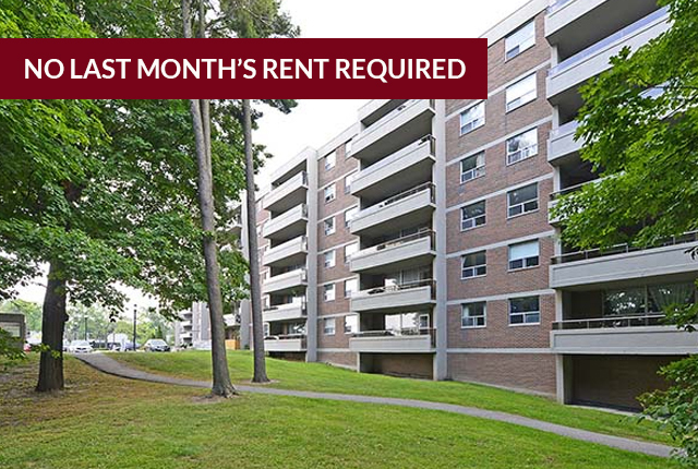 North York 2 bedroom Apartment