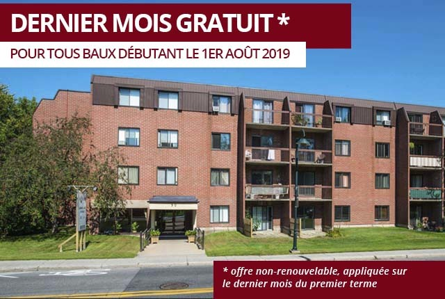 Boucherville Apartment for rent, click for more details...