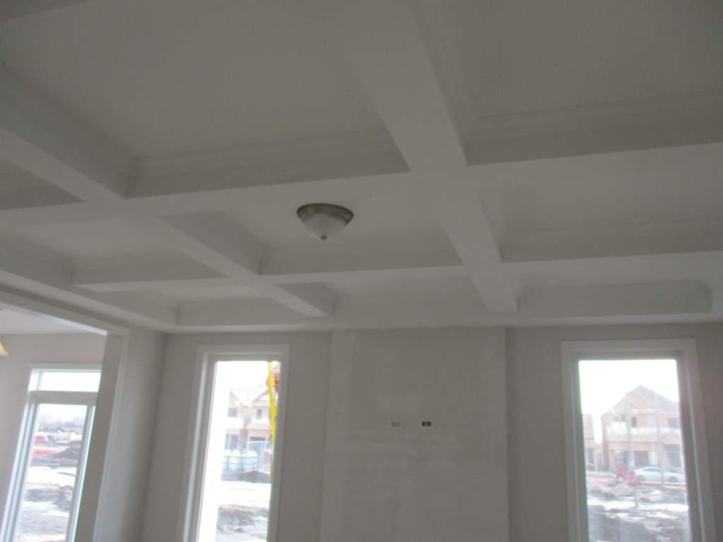 Livingroom Waffle Ceiling