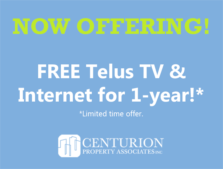 Free Telus TV & Internet