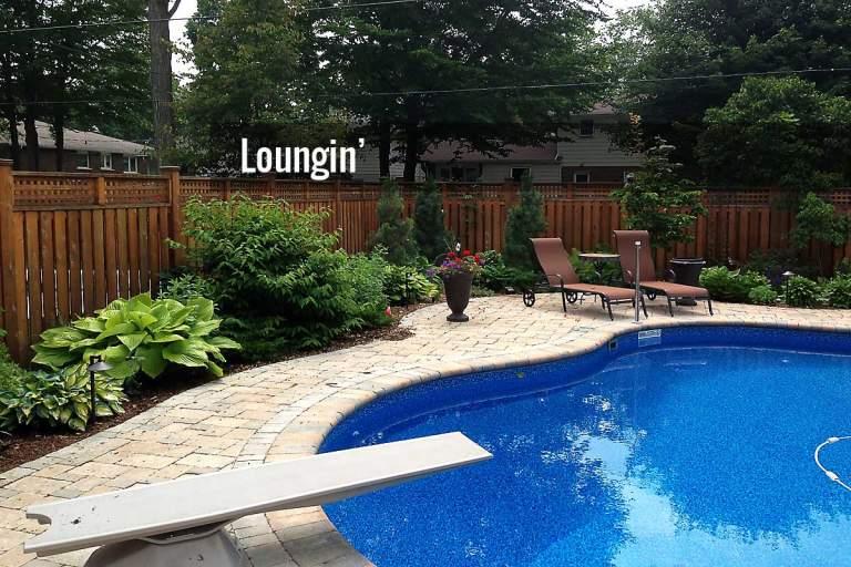 Relaxing Backyard Image