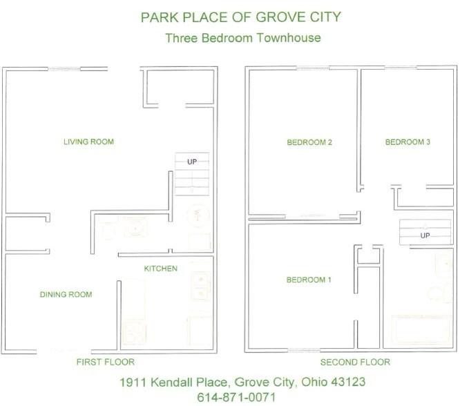 Park Place Apartments Grove City