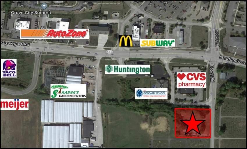 For Sale - 1.5 Acres Commercial Development Land