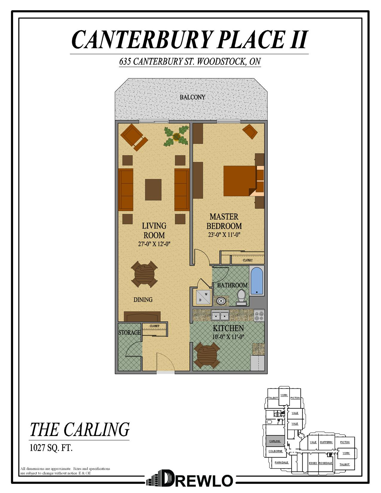 100 Canterbury Floor Plan 3 2 4 Sugar House Road